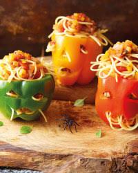 Halloween Food stuff peppers