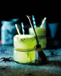 Halloween Slimeade cocktail